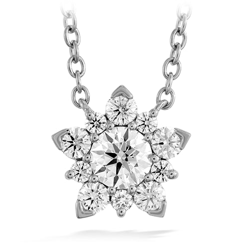 Hearts On Fire Diamond Aerial Cluster Pendant