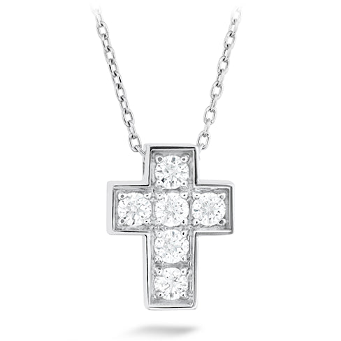 Hearts On Fire Divine Mini Cross Pendent