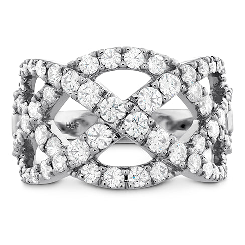 Hearts On Fire Diamond Intertwining Ring