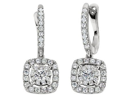 Bouquet Diamond Dangle Earrings