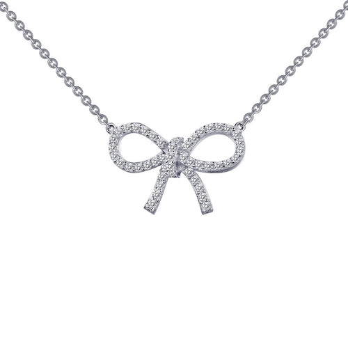 Lafonn Classic Bow Necklace