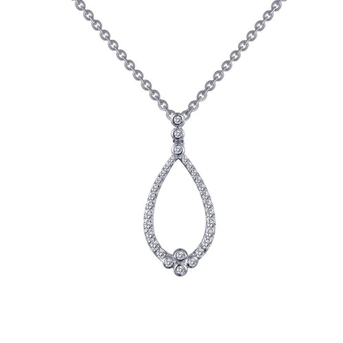 Lafonn Open Teardrop Necklace