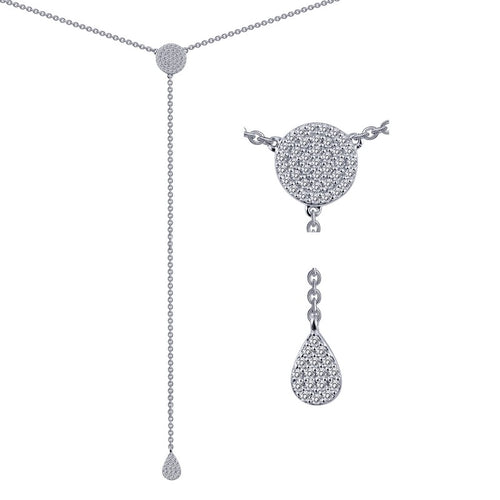 Lafonn Pave Drop Necklace