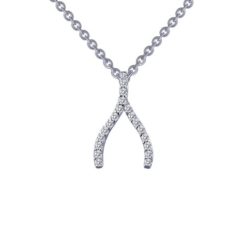 Lafonn Wishbone Necklace