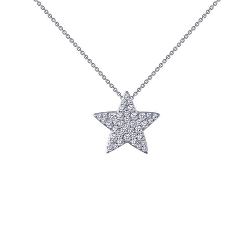 Lafonn Pave Star Necklace