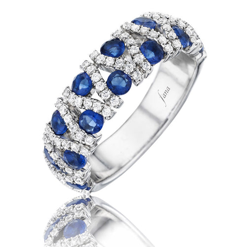Fana Sapphire And Diamond Band