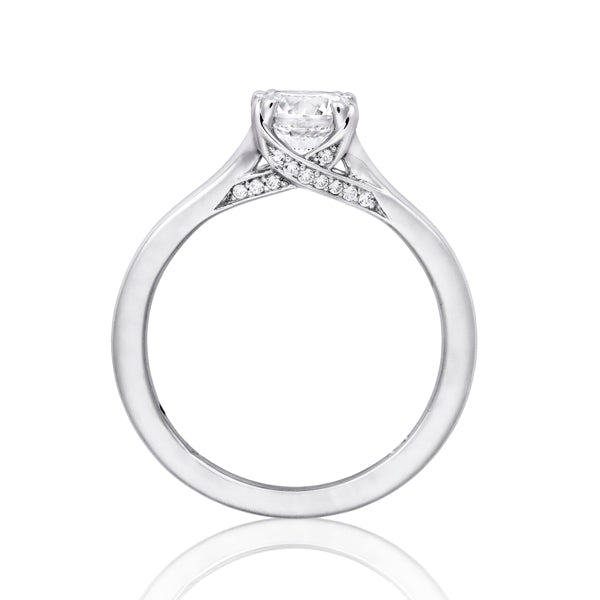 Fana Tapered Solitaire Engagement Ring