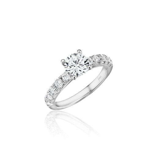 Fana Diamond Solitaire Engagement Ring