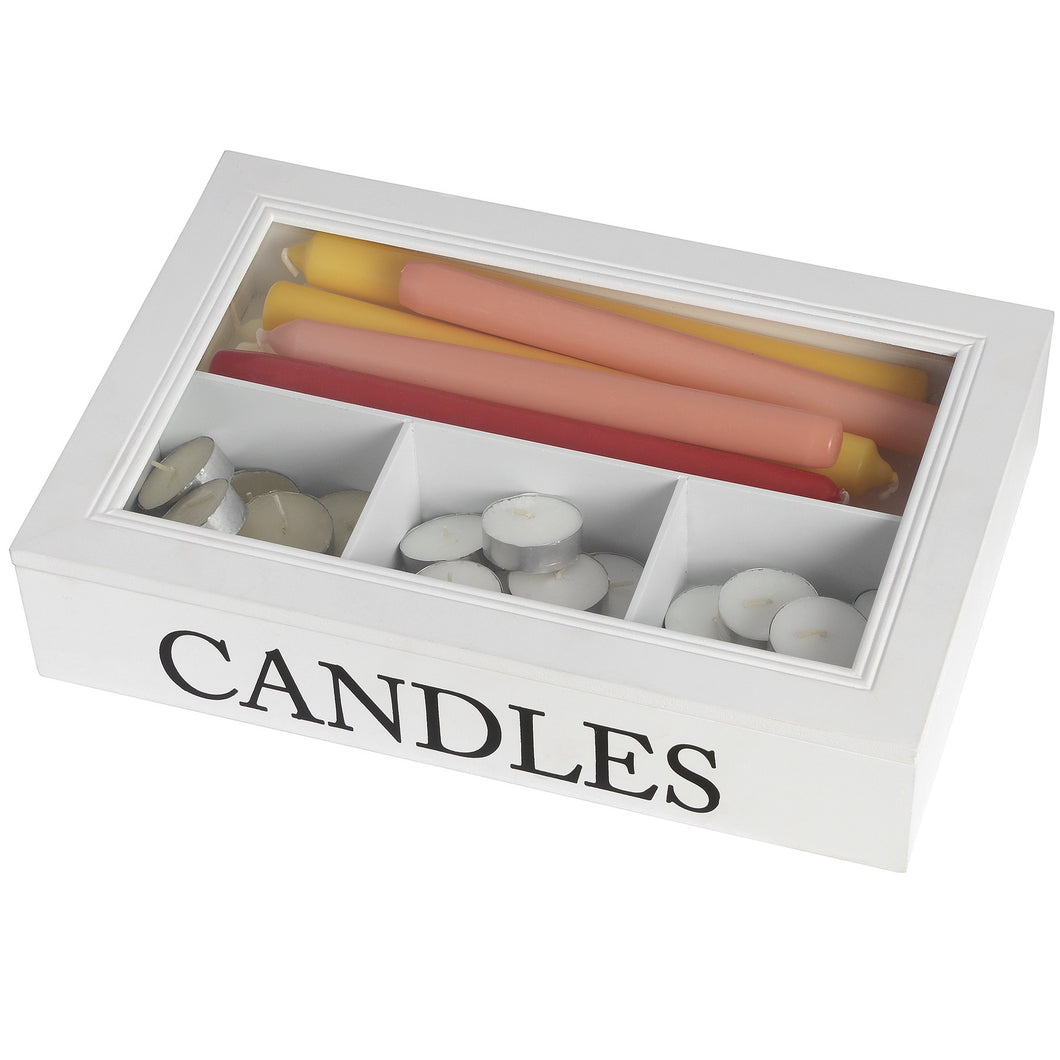 Great Candle Storage Box