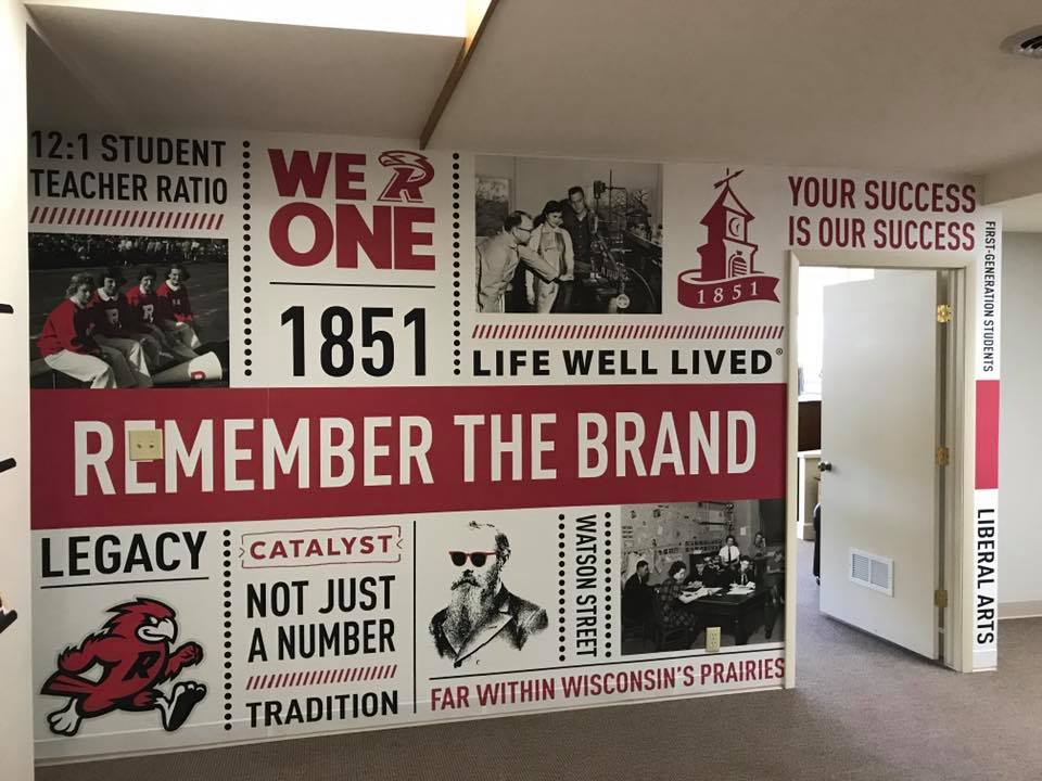 Ripon College Wall Wrap