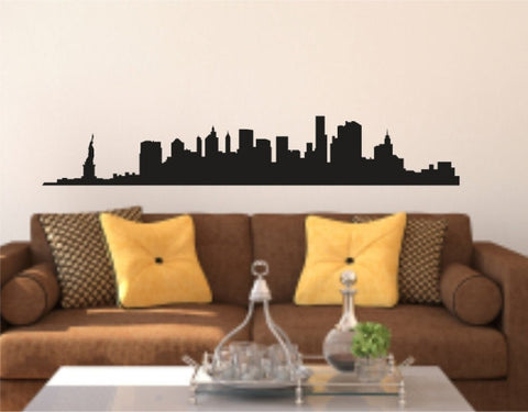 New York City Skyline Decal