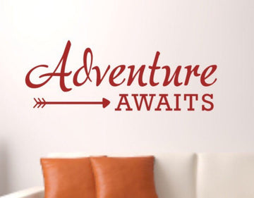 Adventure Awaits Wall Decal Adventure Wall Decals