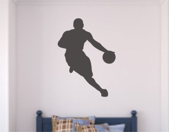Basketball Player Wall Decal