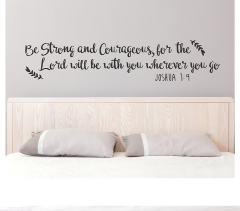 Be Strong Quote Decal