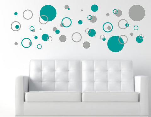 Circles Wall Decal Set