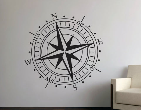 Compass Decal