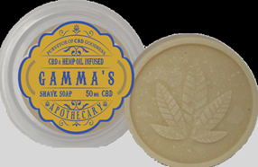 Gamma's Infused Shave Soap Puck