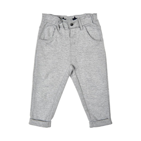Pantalon peluche chic gris - Me too - Hibox-Mini