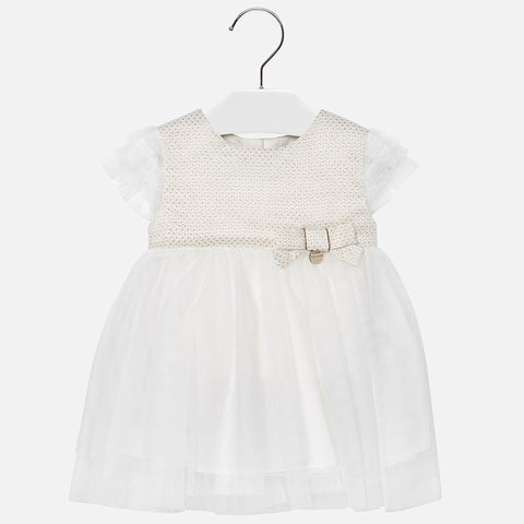 Robe tule blanche - Mayoral