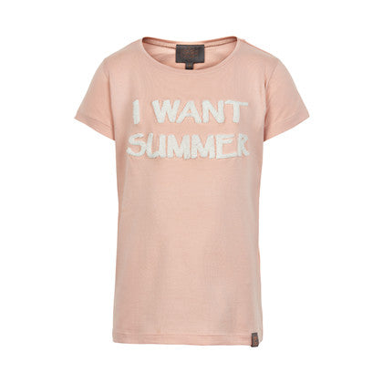 T-shirt I want summer - Creamie