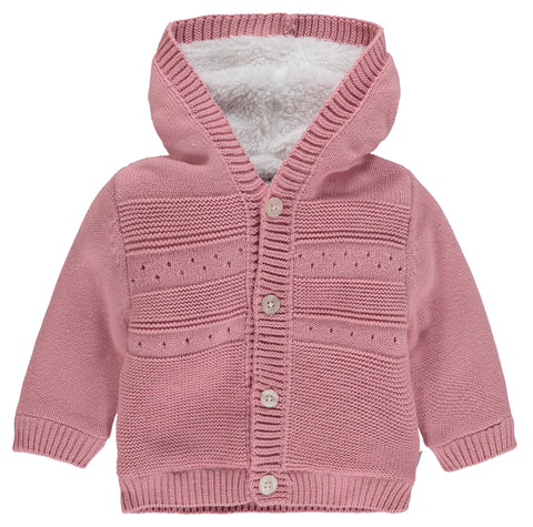 Gilet Valentijn rose - Noppies - Hibox-Mini