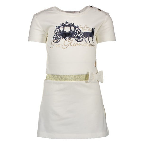 Robe blanche carrousel - Le CHIC