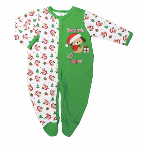 Pyjamas de Noël - Santa's lil helper - Hibox-Mini