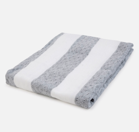Couverture rayée 100% coton - Mayoral - Hibox-Mini