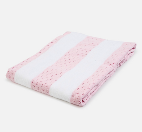 Couverture / Doudou rayée 100% coton - Mayoral - Hibox-Mini