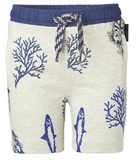 Short Océan marine et gris - Noppies - Hibox-Mini