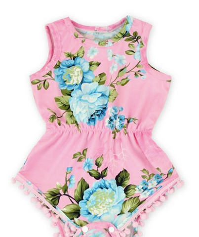 Romper estival - rose - - Hibox-Mini