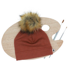 Tuque brique - Little and Lively