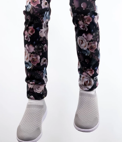 Legging fleurs d'automne - Little and Lively