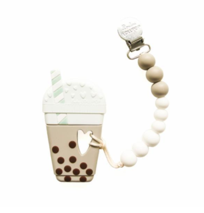 "Jouet de dentition ""milkshake""  - Loulou lollipop - Hibox-Mini"