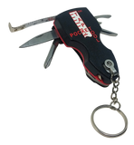 Black, Red, Black, w Key Chain and PTT Logo