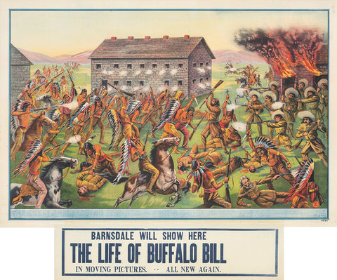 The Life of Buffalo Bill / Attack on Settlers