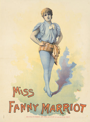 Miss Fanny Marriott