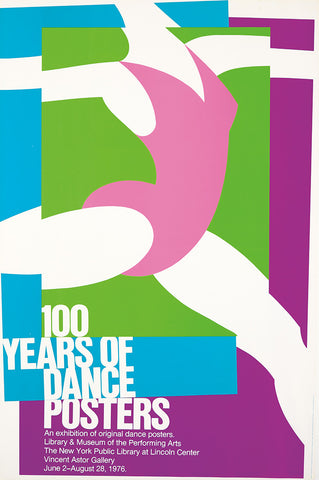 100 Years of Dance Posters.