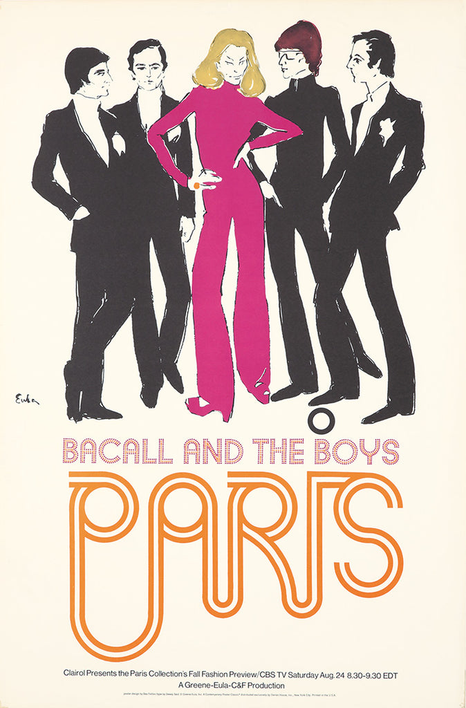 Bacall and the Boys / Paris.