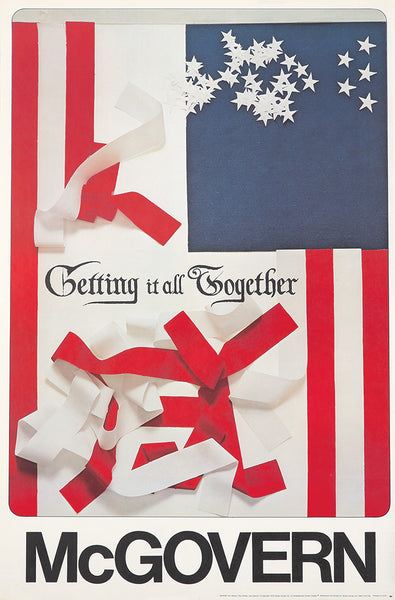 McGovern/Getting it all Together (some signed and numbered) (flag)