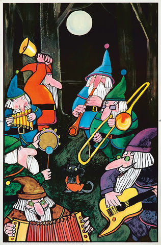 Snow White's Seven Dwarfs / Children's Posters
