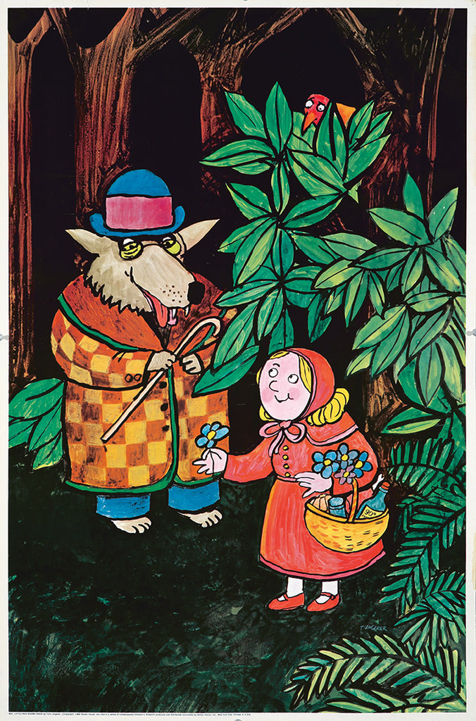 Little Red Riding Hood / Children's Posters