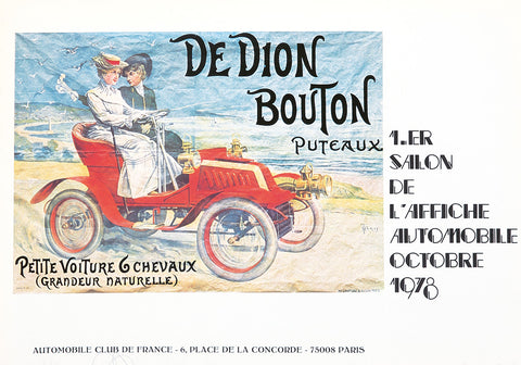 1.er Salon d'Affiche Automobile