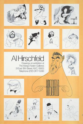 Al Hirschfeld Exhibition