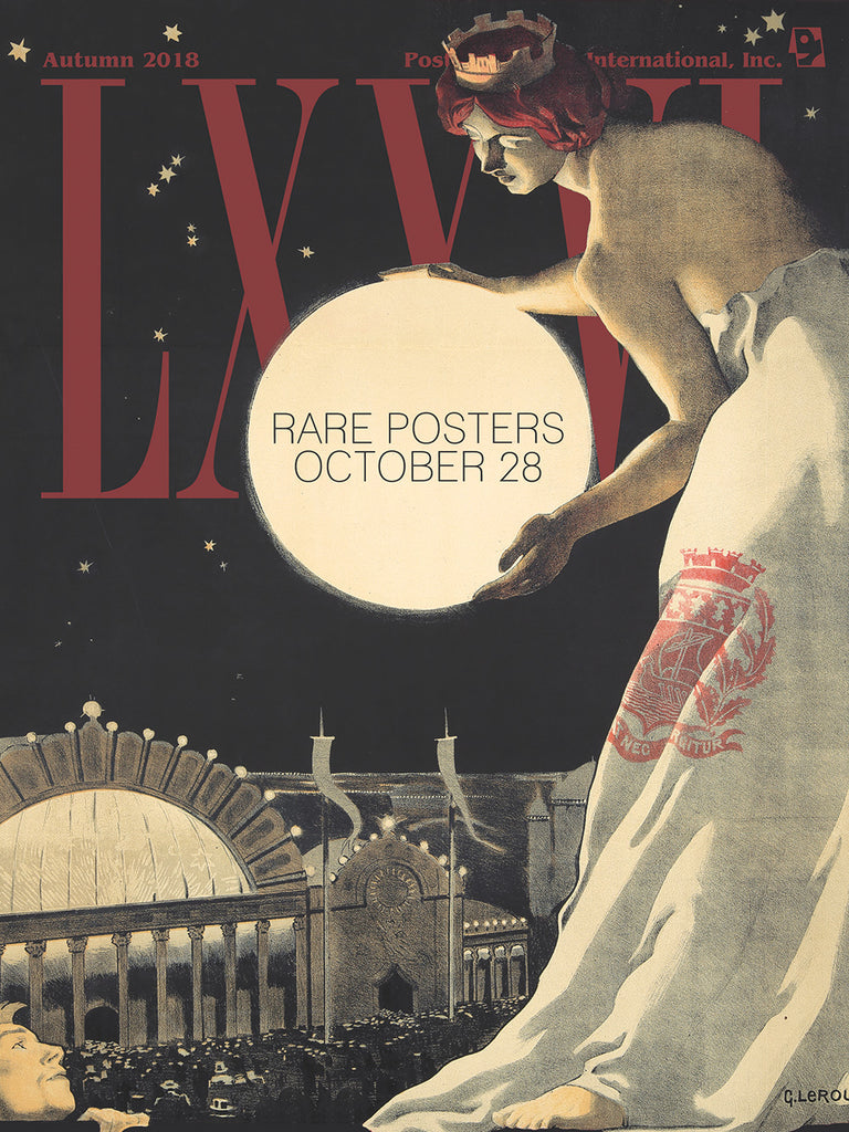 PAI-LXXVI: Rare Posters Catalogue [Domestic Shipping]