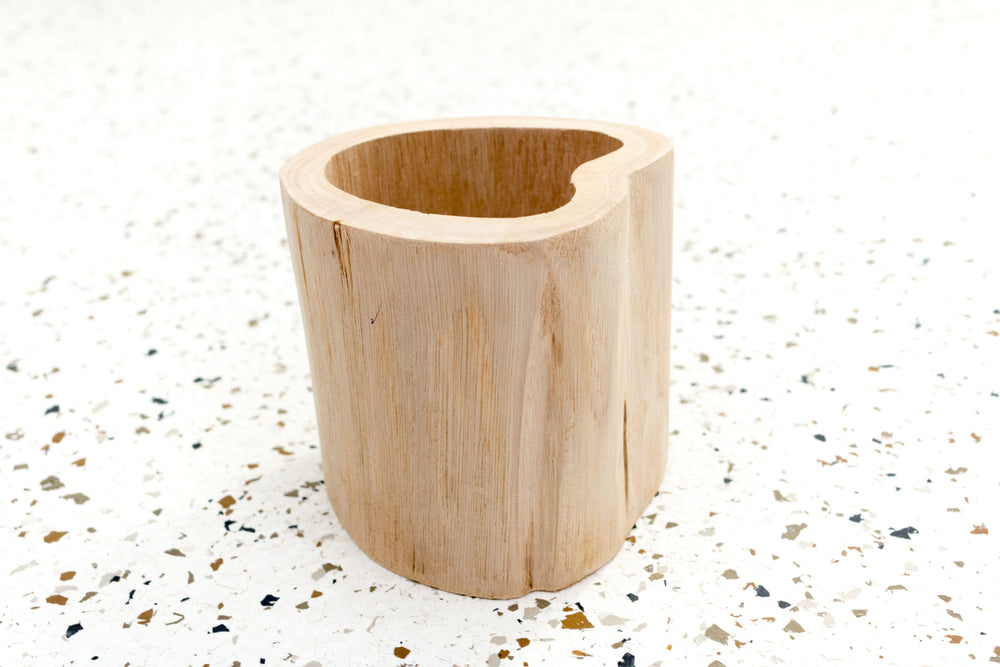 Wholesale - Wooden Driftwood Container [Now Available in Two Sizes]