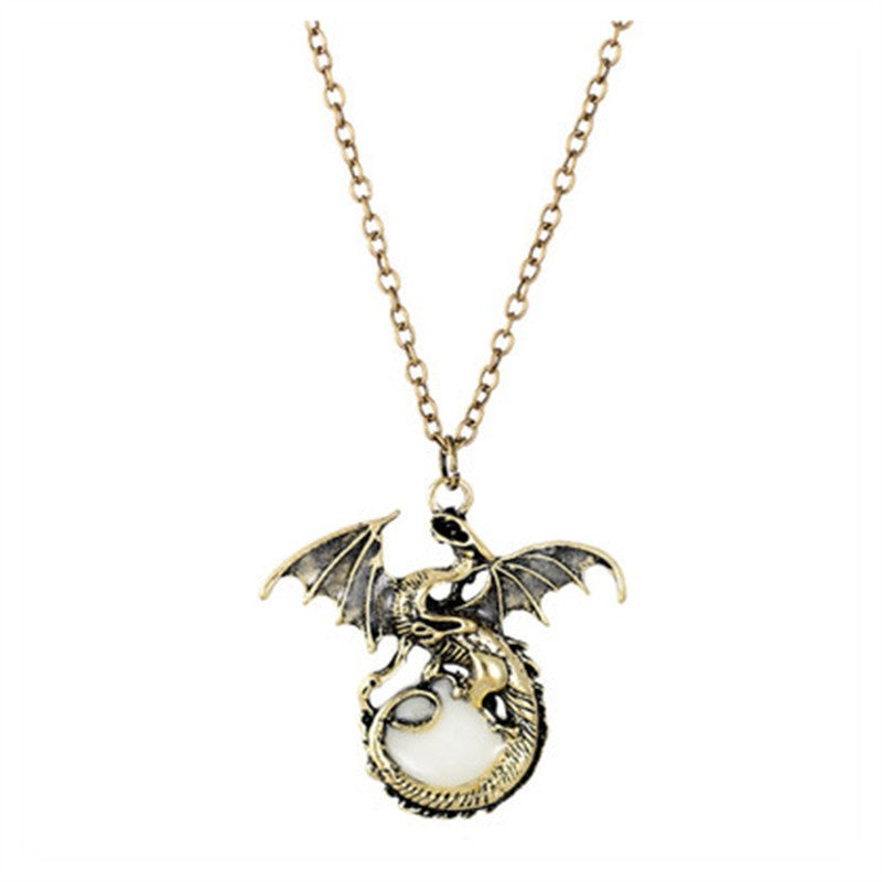Glowing Dragon Pendant Necklace - gadgets flow Gadgetsflow.com - Gadgets flow  body chain - Gadget Gadgetsflow.com - Gadget flow