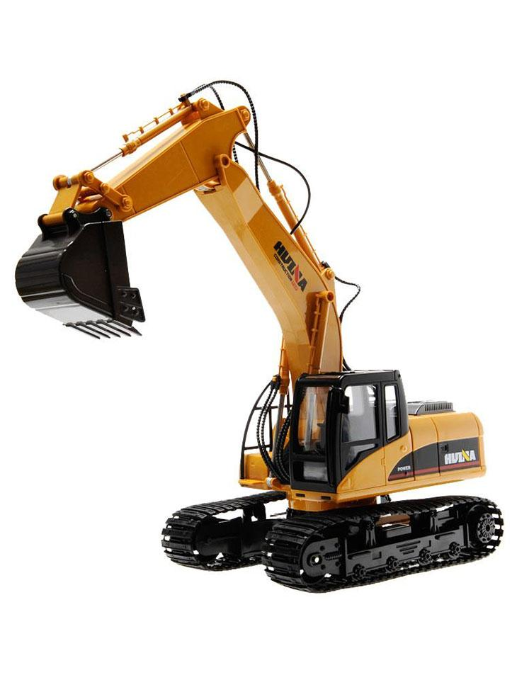 RC KIDS-TRUCK - EXCAVATOR - BULLDOZER- TOYS - CONSTRUCTION - REMOTE CONTROL - HUINA -