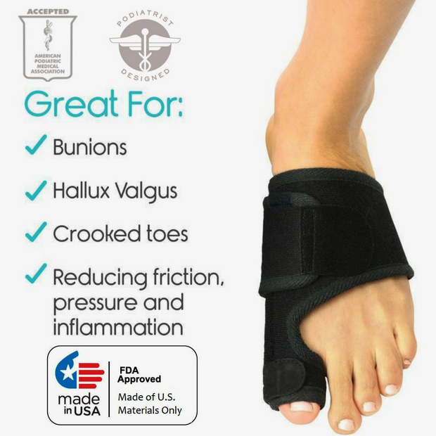PediCare™ - Bunion Day Corrector - SAVE 60% OFF TODAY! (1 Pair)
