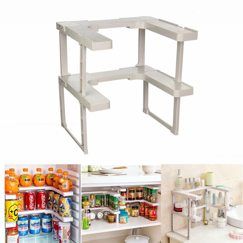 Orgaware™ Spice Rack and Stackable Shelf - gadgets flow Gadgetsflow.com - Gadgets flow   - Gadget Gadgets Flow - Gadget flow